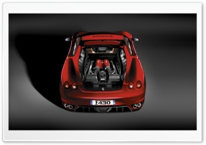 Ferrari F430 Engine HD Wide Wallpaper for Widescreen