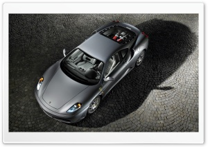 Ferrari F430 Modena Gray HD Wide Wallpaper for Widescreen