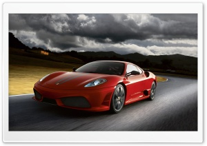 Ferrari F430 Scuderia HD Wide Wallpaper for Widescreen