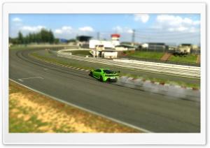 Ferrari F430 Scuderia Matte Green GT5 HD Wide Wallpaper for Widescreen