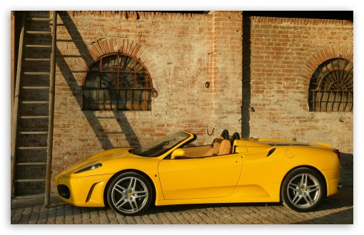 Ferrari F430 Spider Yellow HD wallpaper for Wide 16:10 5:3 Widescreen WHXGA WQXGA WUXGA WXGA WGA ; HD 16:9 High Definition WQHD QWXGA 1080p 900p 720p QHD nHD ; Standard 4:3 3:2 Fullscreen UXGA XGA SVGA DVGA HVGA HQVGA devices ( Apple PowerBook G4 iPhone 4 3G 3GS iPod Touch ) ; iPad 1/2/Mini ; Mobile 4:3 5:3 3:2 16:9 - UXGA XGA SVGA WGA DVGA HVGA HQVGA devices ( Apple PowerBook G4 iPhone 4 3G 3GS iPod Touch ) WQHD QWXGA 1080p 900p 720p QHD nHD ; Dual 16:10 5:3 4:3 5:4 WHXGA WQXGA WUXGA WXGA WGA UXGA XGA SVGA QSXGA SXGA ;