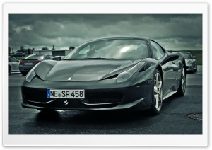 Ferrari F458 Italia HD Wide Wallpaper for Widescreen