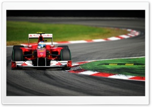 Ferrari F 1 Car HD Wide Wallpaper for Widescreen