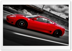 Ferrari F-430 Scuderia HD Wide Wallpaper for Widescreen