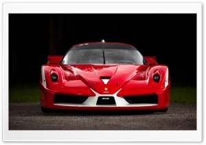 Ferrari FXX Red HD Wide Wallpaper for Widescreen