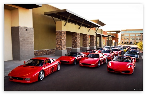 Ferrari Group HD wallpaper for Wide 16:10 5:3 Widescreen WHXGA WQXGA WUXGA WXGA WGA ; HD 16:9 High Definition WQHD QWXGA 1080p 900p 720p QHD nHD ; Mobile 5:3 16:9 - WGA WQHD QWXGA 1080p 900p 720p QHD nHD ;