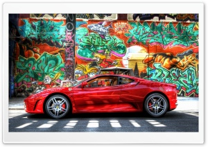 Ferrari HDR HD Wide Wallpaper for Widescreen