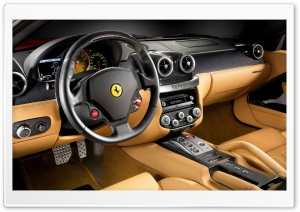 Ferrari Interior 10 HD Wide Wallpaper for Widescreen