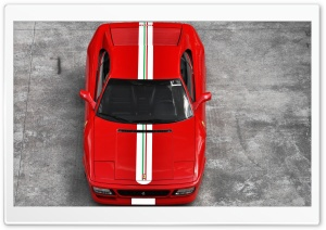Ferrari Italia 355 Red HD Wide Wallpaper for Widescreen