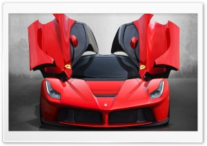 Ferrari LaFerrari HD Wide Wallpaper for 4K UHD Widescreen desktop & smartphone