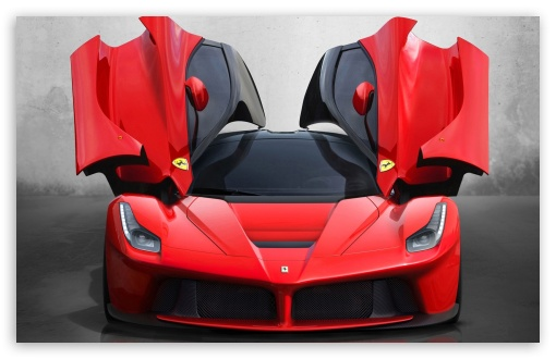 Download Ferrari LaFerrari UltraHD Wallpaper