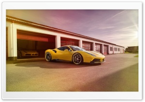 Ferrari Novitec Rosso HD Wide Wallpaper for Widescreen