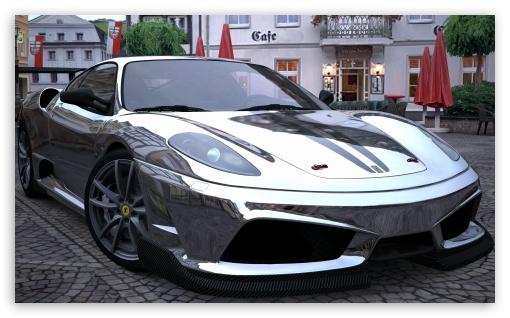 Ferrari Scuderia Chrome HD wallpaper for Wide 5:3 Widescreen WGA ; HD 16:9 High Definition WQHD QWXGA 1080p 900p 720p QHD nHD ; UHD 16:9 WQHD QWXGA 1080p 900p 720p QHD nHD ; Mobile 5:3 16:9 - WGA WQHD QWXGA 1080p 900p 720p QHD nHD ;