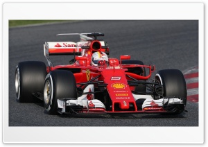 Ferrari SF70H Vettel Ultra HD Wallpaper for 4K UHD Widescreen desktop, tablet & smartphone