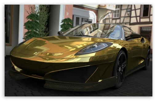 Ferrari SP1 - GOLD HD wallpaper for Wide 16:10 5:3 Widescreen WHXGA WQXGA WUXGA WXGA WGA ; HD 16:9 High Definition WQHD QWXGA 1080p 900p 720p QHD nHD ; Standard 3:2 Fullscreen DVGA HVGA HQVGA devices ( Apple PowerBook G4 iPhone 4 3G 3GS iPod Touch ) ; Mobile 5:3 3:2 16:9 - WGA DVGA HVGA HQVGA devices ( Apple PowerBook G4 iPhone 4 3G 3GS iPod Touch ) WQHD QWXGA 1080p 900p 720p QHD nHD ;