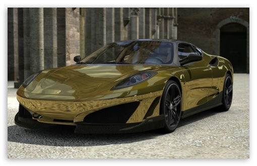 Ferrari SP1 - GOLD Sunshine HD wallpaper for Wide 16:10 5:3 Widescreen WHXGA WQXGA WUXGA WXGA WGA ; HD 16:9 High Definition WQHD QWXGA 1080p 900p 720p QHD nHD ; Standard 3:2 Fullscreen DVGA HVGA HQVGA devices ( Apple PowerBook G4 iPhone 4 3G 3GS iPod Touch ) ; Mobile 5:3 3:2 16:9 - WGA DVGA HVGA HQVGA devices ( Apple PowerBook G4 iPhone 4 3G 3GS iPod Touch ) WQHD QWXGA 1080p 900p 720p QHD nHD ;