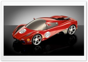 Ferrari Sport Car 19 HD Wide Wallpaper for Widescreen