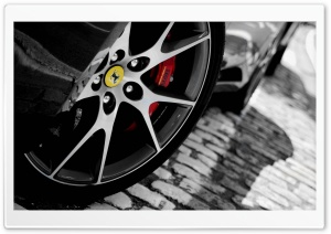 Ferrari Wheel HD Wide Wallpaper for Widescreen