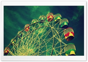 Ferris Wheel HD Wide Wallpaper for Widescreen