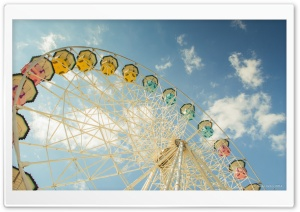 Ferris Wheel HD Wide Wallpaper for 4K UHD Widescreen desktop & smartphone
