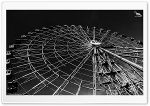 Ferris Wheel ART.IRBIS Production HD Wide Wallpaper for Widescreen