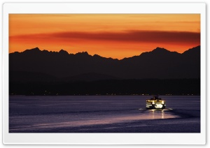 Ferry Boat HD Wide Wallpaper for 4K UHD Widescreen desktop & smartphone
