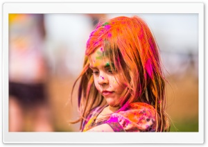 Festival Of Colors HD Wide Wallpaper for Widescreen