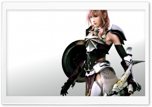 FFXIII-2 Lightning Wall Ultra HD Wallpaper for 4K UHD Widescreen desktop, tablet & smartphone