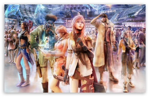 FFXIII Group on Nautilus HD wallpaper for Wide 16:10 5:3 Widescreen WHXGA WQXGA WUXGA WXGA WGA ; HD 16:9 High Definition WQHD QWXGA 1080p 900p 720p QHD nHD ; UHD 16:9 WQHD QWXGA 1080p 900p 720p QHD nHD ; Standard 3:2 Fullscreen DVGA HVGA HQVGA devices ( Apple PowerBook G4 iPhone 4 3G 3GS iPod Touch ) ; Mobile 5:3 3:2 16:9 - WGA DVGA HVGA HQVGA devices ( Apple PowerBook G4 iPhone 4 3G 3GS iPod Touch ) WQHD QWXGA 1080p 900p 720p QHD nHD ;