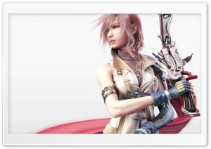 FFXIII Lightning HD Wide Wallpaper for Widescreen