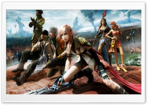 FFXIII On Pulse HD Wide Wallpaper for Widescreen