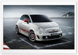 Fiat 500 Abarth HD Wide Wallpaper for 4K UHD Widescreen desktop & smartphone