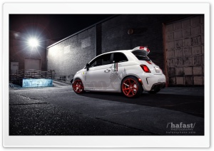FIAT 500 Abarth HD Wide Wallpaper for Widescreen