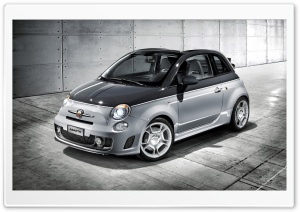 Fiat Abarth 500C HD Wide Wallpaper for Widescreen