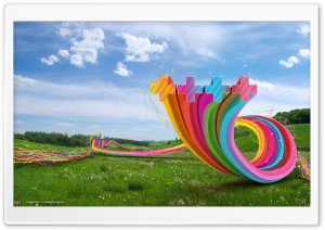 Field Of Art HD Wide Wallpaper for Widescreen