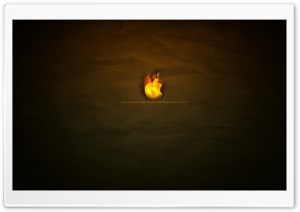 Fiery Passion Apple HD Wide Wallpaper for Widescreen