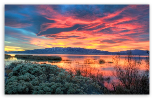Fiery Sunset Over Utah Lake ❤ 4K UHD Wallpaper for Wide 16:10 5:3 Widescreen WHXGA WQXGA WUXGA WXGA WGA ; 4K UHD 16:9 Ultra High Definition 2160p 1440p 1080p 900p 720p ; UHD 16:9 2160p 1440p 1080p 900p 720p ; Standard 4:3 5:4 3:2 Fullscreen UXGA XGA SVGA QSXGA SXGA DVGA HVGA HQVGA ( Apple PowerBook G4 iPhone 4 3G 3GS iPod Touch ) ; Tablet 1:1 ; iPad 1/2/Mini ; Mobile 4:3 5:3 3:2 16:9 5:4 - UXGA XGA SVGA WGA DVGA HVGA HQVGA ( Apple PowerBook G4 iPhone 4 3G 3GS iPod Touch ) 2160p 1440p 1080p 900p 720p QSXGA SXGA ; Dual 16:10 5:3 16:9 4:3 5:4 WHXGA WQXGA WUXGA WXGA WGA 2160p 1440p 1080p 900p 720p UXGA XGA SVGA QSXGA SXGA ;
