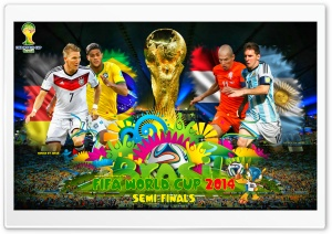 FIFA WORLD CUP 2014 SEMI-FINALS HD Wide Wallpaper for Widescreen
