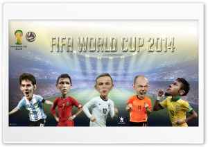 FIFA World Cup 2014 HD Wide Wallpaper for Widescreen
