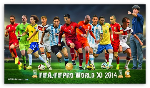 FIFA WORLD XI 2014 ❤ 4K UHD Wallpaper for 4K UHD 16:9 Ultra High Definition 2160p 1440p 1080p 900p 720p ; Mobile 16:9 - 2160p 1440p 1080p 900p 720p ;