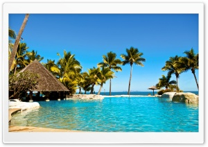 Fiji Resort HD Wide Wallpaper for Widescreen