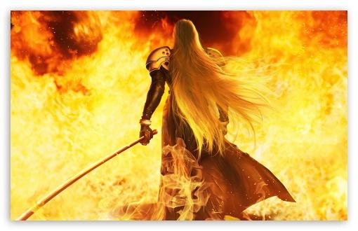 Sephiroth Ultra HD Desktop Background