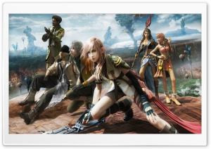 Final Fantasy XIII HD Wide Wallpaper for Widescreen