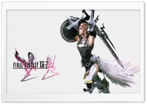 Final Fantasy XIII-2 HD Wide Wallpaper for Widescreen