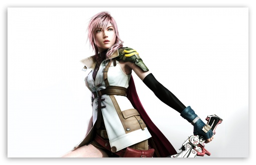 Final Fantasy XIII - Lightning HD wallpaper for Standard 4:3 5:4 Fullscreen UXGA XGA SVGA QSXGA SXGA ; Wide 16:10 5:3 Widescreen WHXGA WQXGA WUXGA WXGA WGA ; HD 16:9 High Definition WQHD QWXGA 1080p 900p 720p QHD nHD ; Other 3:2 DVGA HVGA HQVGA devices ( Apple PowerBook G4 iPhone 4 3G 3GS iPod Touch ) ; Mobile VGA WVGA iPhone iPad PSP Phone - VGA QVGA Smartphone ( PocketPC GPS iPod Zune BlackBerry HTC Samsung LG Nokia Eten Asus ) WVGA WQVGA Smartphone ( HTC Samsung Sony Ericsson LG Vertu MIO ) HVGA Smartphone ( Apple iPhone iPod BlackBerry HTC Samsung Nokia ) Sony PSP Zune HD Zen ; Tablet 2 ;