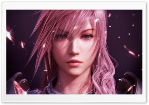 Final Fantasy XIII Lightning HD Wide Wallpaper for Widescreen