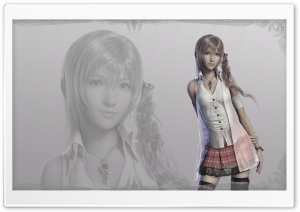 Final Fantasy XIII Serah Ultra HD Wallpaper for 4K UHD Widescreen desktop, tablet & smartphone