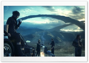 Final Fantasy XV HD Wide Wallpaper for Widescreen