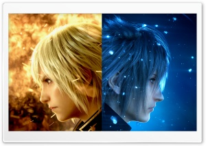 Final Fantasy XV Characters Video Game HD Wide Wallpaper for Widescreen