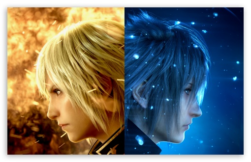 Final Fantasy Xv 4k Hd Games 4k Wallpapers Images: Final Fantasy XV Characters Video Game 4K HD Desktop
